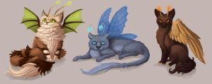 More Fairy Cats by sleepyotter
