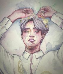 Park Jimin Commission by pyraumus