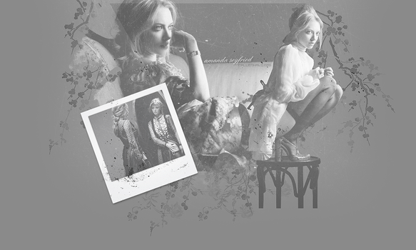 Amanda Seyfried Header by FallennHalo