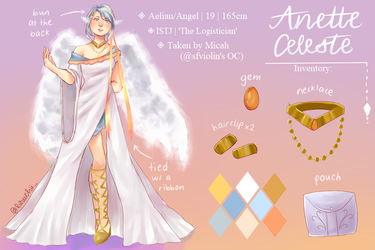 Anette reference sheet by Vivibunnii