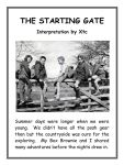 The Starting Gate by xtcgm