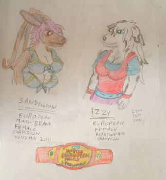 champion vs champion Unified European championship by WhippetWild