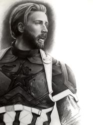 Steve Rogers - final WIP 3 by Cataclysm-X