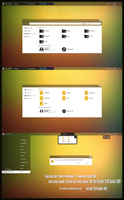 Tiano Glass Theme Win10 October 1809 by Cleodesktop