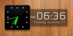 Android Clock and Calendar for XWidget by boyzonet