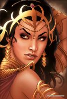 Dejah Thoris 18 Cover Colors by FabianoNeves