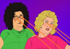 Tim and Eric and Lasers 4 by Misoks