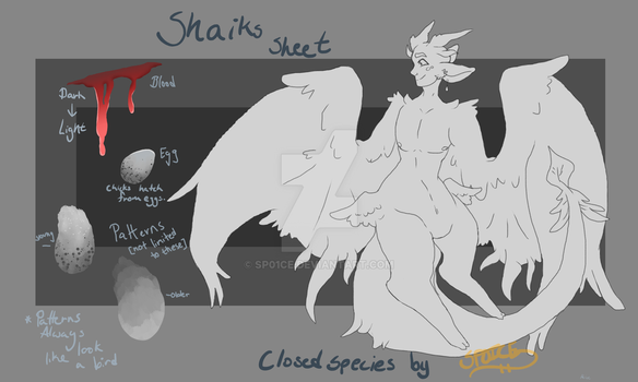 Shaiks [CLOSED SPECIES] by SP01CE