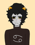 Karkat from Homestuck by ChocoOzorii