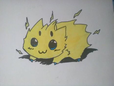 Chibi Joltik by Cosplaying-Squirtle