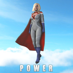 Power Girl by Ozon971Games