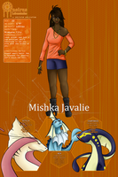 PKMN DreamLabs: Mishka Javalie by The-Hybrid-Mobian