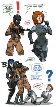 Metal Gear Wossy 2: Sumthin' 'Bout Liberty - 1 by WossaRem