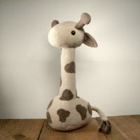 Griswald the Giraffe Plushie by Saint-Angel