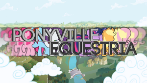 Ponyville 'Questria HD Wallpaper by TheShabbyCat