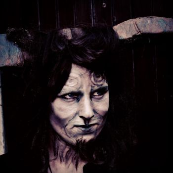 Pan's Labyrinth Makeup by NightingaleCosplay
