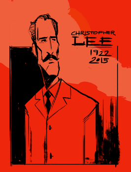 Christopher Lee by gynemeth78