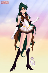 Altered Form Super Sailor Pluto (1) by RoyalRaven99