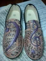 The Overture Custom Shoes by Acrylicolt