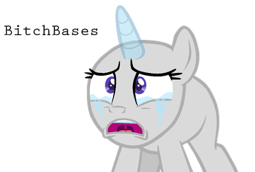 MLP Base: Crying pon by KIngBases
