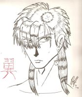 Tasuki of Fushigi Yuugi by Pitdragon