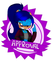 Punky Seal Of Approval by Mongoosegoddess