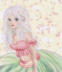 Spring Fairy by doll-fin-chick