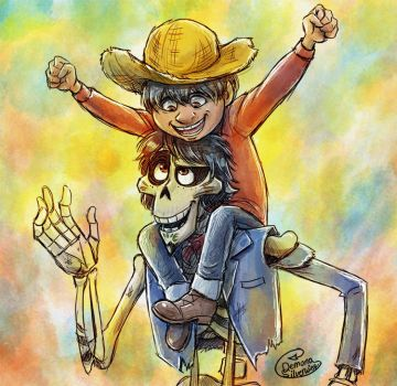 Hector and Miguel 2 by Demona-Silverwing