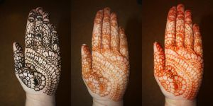 Full Henna Hand by CrossFade1105