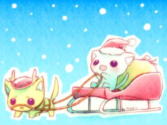 Christmas 2009 :1: by Mikeinel