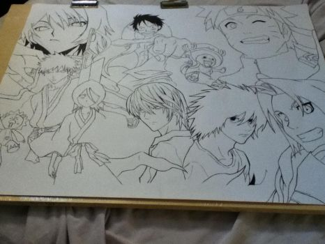 My Favourite Animes by ranchan-123