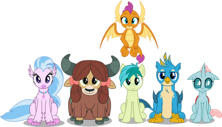 Vector #911 - The Young Six #2 by DashieSparkle