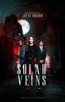 Wattpad Cover 27 | Solar Veins by lottesgraphics