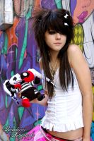 graffiti queen. by paradoxphotography
