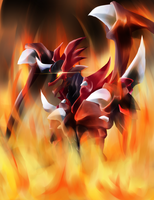 .: CFV : Dragonic Overlord : Flames :. by L-Y-R-I-E