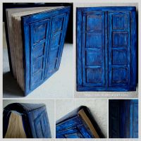 Doctor Who TARDIS Notebook by siniart