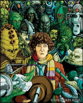 Tom Baker by PaulHanley