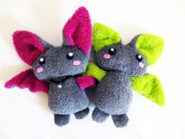 Plush bats by nfasel
