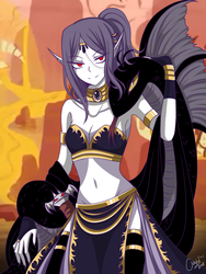 Queen of the Dead [The Vampair Series] by CNeko-chan