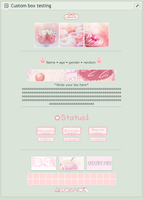 Pink sweets custom box code (F2U) by Artist-Aika