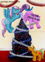 Christmas My little pony by GhostLiger
