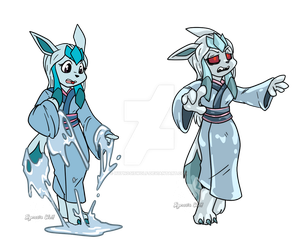 [COM] Lumi Glaceon Zombot TF Sequence by HypnosisWolf