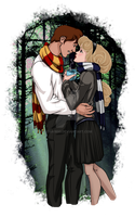 Disney at Hogwarts: 2/8 by Eira1893