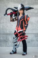 Raven Reckless Fist Cosplay. Wanksta. by JFamily