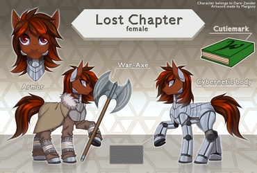 Lost Chapter ref commission by Margony