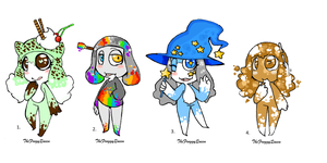 [OPEN 2/4]  ORIKERO ADOPTS by TheFroggyQueen