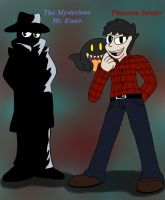 Mysterious Mr Enter and Phantom Strider by ShinySmeargle