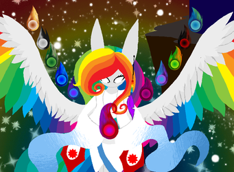 The Goddess of Time and Dreams by AntipathicZora