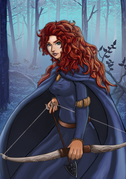 Merida by rithgroove