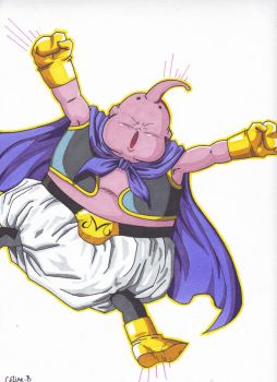 Majin Buu by Sakuchane
